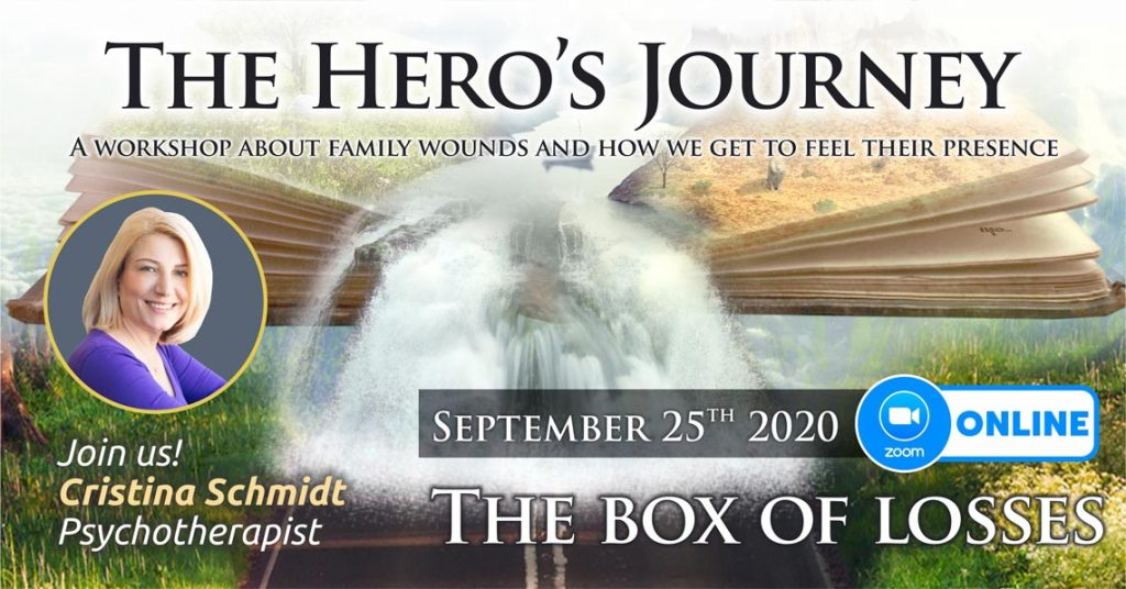 """September 25th 2020 – ONLINE – Transgenerational Psychotherapy Group – """"The Hero's Journey"""", Bucharest, Romania"""