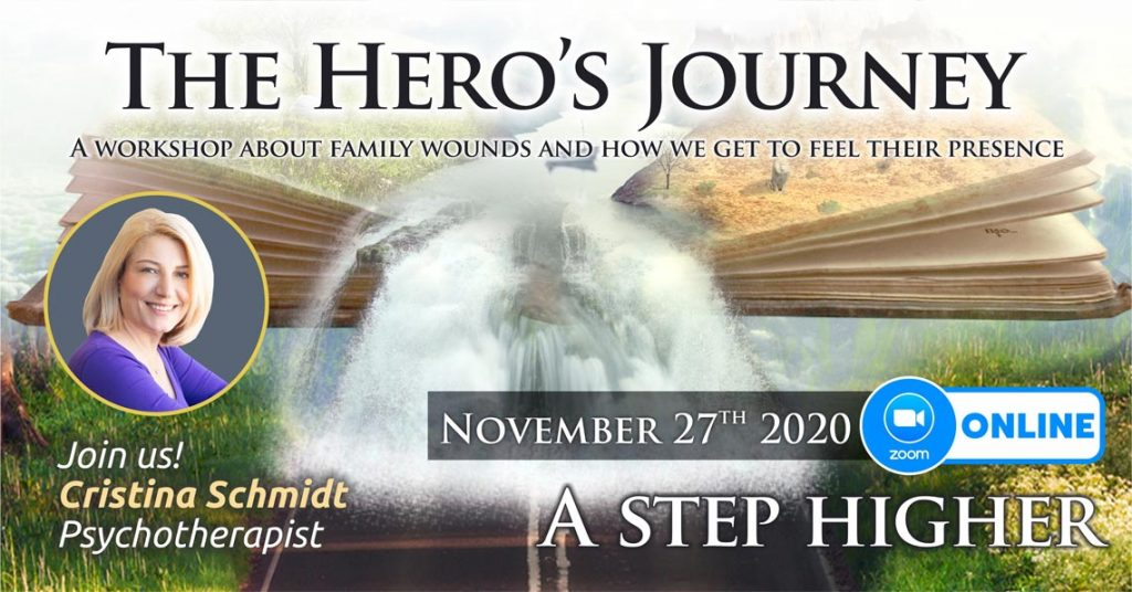 """November 27th 2020 – ONLINE – Transgenerational Psychotherapy Group – """"The Hero's Journey"""", Bucharest, Romania"""
