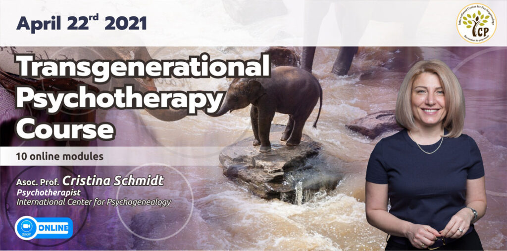 April 22rd 2021- Transgenerational  Psychotherapy  Course