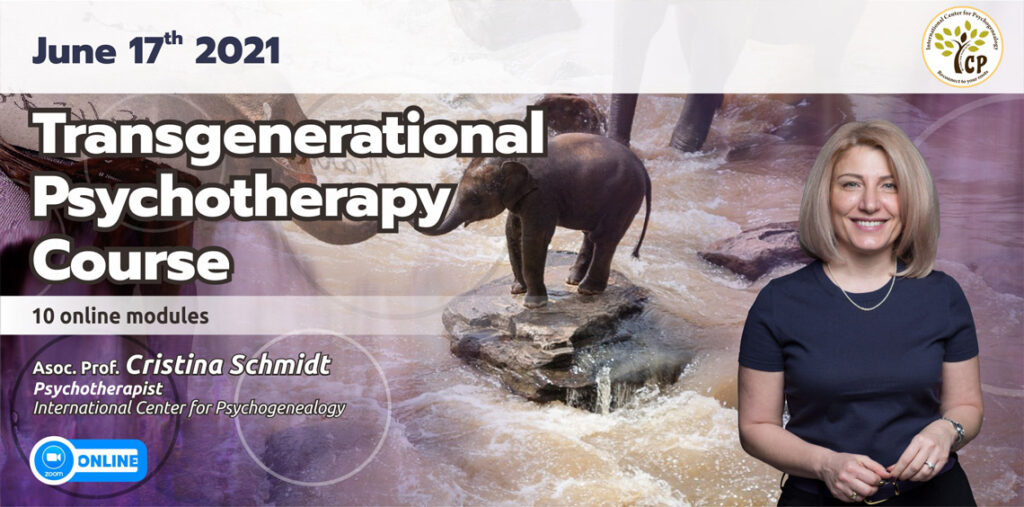June 17th 2021 – Transgenerational  Psychotherapy  Course